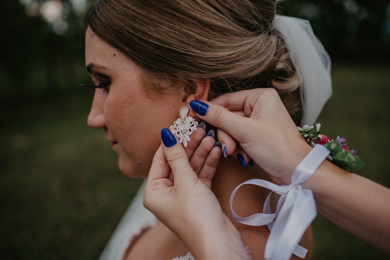 Svadobné náušnice